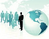 Globe - Man Made Object,Business,Map,Team,Earth,USA,World Map,Silhouette,Men,Asia,Cartography,Planet - Space,Business Person,Africa,Professional Occupation,Businessman,Canada,Women,The Americas,Pacific Ocean,Businesswoman,Blue,Physical Geography,Computer Graphic,Sea,Europe,South America,Land,countries,North America,business team,Suit,Male,Female,Vector,continents,Clip Art,Atlantic Ocean,People,Illustrations And Vector Art,Ilustration