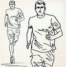 Ilustration,Jogging,Leisure Activity,Healthy Lifestyle,Walking,Recreational Pursuit,Workbook,Lifestyles,Men,Male,Success,Relaxation,Pattern,squared,Running,People,Marathon,Speed,Notebook,Training Class,Paper,Vector,Sports Race,Learning,Relaxation Exercise,Exercising,Sport,Sketch,Competition,Competitive Sport,Action,Muscular Build,Athlete,Square,Square Shape,Sports Training,Document,Sports Clothing,Note Pad,Winning,Page,Victory,Education,Sports Shoe