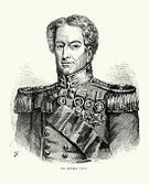 Armed Forces,Obsolete,Old,Military,Nostalgia,Sale,Men,Old-fashioned,Styles,Vertical,Black And White,Portrait,Cultures,Retro Revival,Woodcut,Engraved Image,English Culture,Traditional Clothing,Clothing,epaulet,Northern European Descent,Award,Ilustration,Historical Clothing,Mature Men,Victorian Style,Officer,Robert,Military Uniform,Army Soldier,Print,Fine Art Portrait,British Military,UK,British Culture,Medal,The Past,19th Century Style,Image Created 19th Century,Antique,Shoulder Pad,General,Male,Uniform,History,Rank