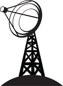 Satellite Dish,Communications Tower,Broadcasting,Crockery,Send,Receiving,Communication,Communication,Concepts And Ideas,Computer Network,Wireless Technology