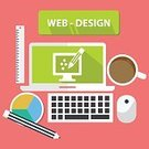 Equipment,Web Page,Design Professional,Telephone,Symbol,Vector,Laptop,Html,Reflection,Multimedia,Business,Computer,Chart,Scale,Cooperation,Pink Color,Ilustration,Technology,adjustable,Mobile Phone
