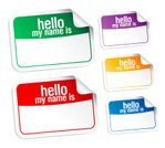 Name Tag,Colors,Greeting,Empty,Part Of,Design,Hello,Horizontal,Vector,Collection,Seminar,Paper,Ilustration,delegate,Copying,Label,Identity,Red,Tag,Set,Attached,Backgrounds,Clean,Transparent,Greeting Card,Business,Badge,Communication