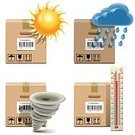 Cargo Container,Sun,Sunlight,Freight Transportation,Transportation,Water,Heat - Temperature,Rejection,Thermometer,Drinking Water,Computer Icon,Symbol,Crate,Carton,Box - Container,Incomplete,Delivering,Yellow,Set,Cold - Termperature,Climate,Icon Set,Wind,Storm,Weather,Adventure,Fog,Overheated,Packing,Cloud - Sky,Damaged,High Up,Temperature,Shipping,Vector,Failure,Blue,Sunbeam,Wet,Raindrop,Package,Tornado,Condition,Scale,Force Majeure,Drop,Rain,Cardboard