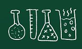 Laboratory,Blackboard,Symbol,Research,Sign,Back to School,Doodle,Ilustration,University,Education,Science,Backgrounds