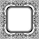 Black Color,White,Frame,Ornate,Pattern,Leaf,Intricacy,Circle,Elegance,Old-fashioned,Tattoo,Floral Pattern,Shape,Scroll Shape,Decoration,Style,Swirl,Vector,Abstract,Art,Design Element,Decor,Blank,Empty