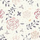 Floral Pattern,Vector,Square,Ilustration,Decoration,Ornate,Pattern,Backgrounds,Seamless