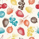 Fruit,Pattern,Botany,Raspberry,Strawberry,Food,Berry Fruit,Ilustration,Dried Cranberry,Old-fashioned,Backgrounds,Cranberry,Retro Revival,Design Element,Computer Graphic,Pencil Drawing,Drawing - Activity,Gooseberry,Drawing - Art Product,Organic,Blackberry,Currant,Ink,Vector,Seamless,Forest,Cow,Vitamin Pill,Awe,Sweet Food,Plant,Set,Grunge,Blueberry,Freshness,Harvesting,Juice,Dieting,Isolated,Engraved Image,Vegetarian Food,Mulberry,Red,Berry,Woodland