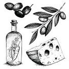 Olive,Olive Tree,Drawing - Art Product,Old-fashioned,Engraving,Food,Retro Revival,Engraved Image,Greece,Cheese,Bottle,Design Element,Vector,Italy,Italian Culture,Textured,Black Color,Leaf,Backdrop,Nutrition Label,Oil,Cold - Termperature,Design,Appetizer,Healthy Eating,Ingredient,Tree,Nature,Vegetarian Food,Branch,Spice,Menu,Cultures,Plant,Vegetable,Organic,Pencil Drawing,Pattern,Ornate,Ink,Ilustration,Decoration,collation,Computer Graphic,Mediterranean Culture,Dinner,Drawing - Activity