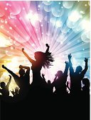 Crowd,Disco Dancing,Silhouette,Back Lit,Eps10,Backgrounds,People,EPS 10,Party - Social Event,Vector,Celebration,Pair,Friendship,Abstract,Emo,Youngsters,Little Boys,Men,Women,Dancing