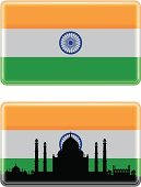 Indian Flag,India,Taj Mahal,Flag,Indian Culture,Urban Skyline,Symbol,Silhouette,Cityscape,Ilustration,Agra,Urban Scene,Shadow,Reflection,Isolated On White,Back Lit,Focus on Shadow,Vector,Isolated,Tile,Computer Icon,Glass - Material,Shiny