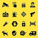 Symbol,Computer Icon,Protection,Icon Set,Gun,Barbed Wire,Protective Workwear,Shielding,Violence,Walkie-talkie,Vector,Emergency Light,Silhouette,Security System,Armored Truck,safeguard,home security,Gate,Flashlight,Shield,Black Color,Stop Sign,Security Guard,Electronic Listening Device,Warning Sign,Vaulted Door,Identity,Safe,Riot Shield,Siren,Burglar Alarm,Human Hand,Computer Graphic,PIN Entry,Siren,Interface Icons,Bodyguard,Guard Dog,Sheriff,Furious,Digitally Generated Image,Security Code,ID Card,Biometrics,Stun Gun,Security Camera,Danger,Surveillance,Tell Us,Armored Vehicle,Badge,Safety