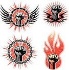 Fist,Revolution,Chain,Rebellion,Insignia,Shield,Artificial Wing,Flame,Tattoo,Human Hand,Coat Of Arms,Graffiti,Vector,Wing,Grunge,Modern Rock,Power,Badge,City Life,Protest,1940-1980 Retro-Styled Imagery,Retro Revival,Backgrounds,Symbol,Youth Culture,Black Color,Strike - Industrial Action,Link,Ilustration,Old-fashioned,Splattered,Star Shape,Textured,Design Element,Textured Effect,Spray,Ornate,graphic elements,Red,Ink,Part Of,Arts Symbols,Arts Backgrounds,Illustrations And Vector Art,Arts And Entertainment