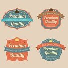Insignia,Ilustration,Computer Graphic,Organized Group,Crown,Abstract,Backgrounds,Symbol,Badge,Vector,Label,Sign,Business,premium