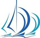 Sailboat,Sailing,Sail,Yacht,Yacht,Sign,Sailing Ship,Vector,Nautical Vessel,Sea,Wind,Ilustration,Regatta,Sports Race,Cruise,Adventure,Vacations,Competition,Tourism,Design,Activity,Travel,Sport,Silhouette,Speed,Transportation,Computer Graphic,Leisure Activity,Mode of Transport,Symbol,Isolated,Relaxation,White,Yachting,Blue