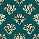 Textured,Seamless,Backgrounds,Decor,Ornate,Decoration,Tile,Repetition,Vector,Royalty,Victorian Style,Ilustration,Flourish,Flower,Design,Retro Revival,Renaissance,Old-fashioned,Textile,Embellishment,Green Color,Wallpaper,Abstract,Scroll Shape,Computer Graphic,Curve,Wallpaper Pattern,Silk,Swirl,Backdrop,Antique,Pattern,flourishes,Floral Pattern,Leaf