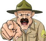 Armed Forces,Military,Military Camp,Army,Sergeant,Animated Cartoon,Camping,Cartoon,Marines,Bullying,Shouting,Screaming,Instructor,you,USA,Men,Mustache,American Culture,Order,Simplicity,'at' Symbol,Displeased,Furious,Summer Camp,Vector,Anger,Hat,Desire,Drill Sargeant,Army Soldier,Sports Training Camp,Sports Training,Officer,Pointing,Weapon,Training Class,Aiming
