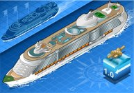 Isometric,Cruise Ship,Ship,Nautical Vessel,Passenger Ship,Sea,Swimming Pool,Tourism,Transportation,Sailboat,Sail,Caribbean,Journey,Holiday,Luxury,Ferry,Vacancy,People Traveling,Caribbean Sea,Blue,Backgrounds,overseas,Passenger,Vacations,Travel,Cruise,Travel Destinations
