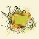 Banner,Frame,Floral Pattern,Textured,Flower,Summer,Grunge,Dirty,Textured Effect,Orange Color,Autumn,Leaf,Backgrounds,Vector,Ornate,Design,Old,Shape,Green Color,Spray,Clip Art,Arts And Entertainment,Plant,Scroll Shape,1940-1980 Retro-Styled Imagery,Nature Abstract,Blob,Beautiful,Beauty,Arts Backgrounds,Art,Nature,Nature Backgrounds,Curled Up,Abstract,Painted Image,Beauty In Nature,Ilustration,Retro Revival