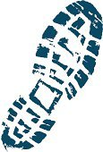 Print,Boot,Shoe Print,Footprint,Track,Shoe,Hiking Boot,Foot,Vector,Walking,Stepping,Tracing,Action,Imitation,Isolated,Blue,Boot Print,Macro,Activity,Illustrations And Vector Art,indent,Mud Print