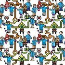 People,Chemistry,Scientist,Group Of People,Occupation,Education,Fun,Group of Objects,Orange Color,Biology,Pattern,Liquid,Flask,Men,Discovery,Technician,Seamless,Image,Bottle,Coat,Tubing,Human Resources,Equipment,Backgrounds,Cartoon,Ideas,Medicine,Human Hand,Organization,Instrument of Measurement,Characters,Blue,Bubble,Business,Beaker,Biochemistry,Scientific Experiment,Glass,Symbol,Laboratory,Vector,Ilustration,Science,Sign