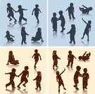 Child,Silhouette,Baby,Offspring,Little Boys,Playing,Running,People,Toddler,Vector,Little Girls,Childhood,Shadow,Assistance,Cheerful,Care,Playful,Happiness,Action,Consoling,Isolated,Throwing,Activity,Ilustration,Clip Art,Female,Male,Lifestyle,Illustrations And Vector Art,People,Babies And Children,Vector Icons