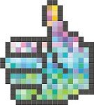 Mosaic,Art Product,Gesturing,Cube Shape,Two-dimensional Shape,Spotted,Cursor,Geometric Shape,Wallpaper,Abstract,Vector,template,Technology,Pixelated
