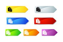 Symbol,Icon Set,Arrow Symbol,Religious Icon,Computer Icon,Label,Metallic,Color Image,No People,Silver Colored,Interface Icons,Illustrations And Vector Art,Multi Colored,Blue,White Background,Vector,Orange Color,web icon,Set,Objects/Equipment,Internet,Green Color,Red,Purple,Gray,Yellow