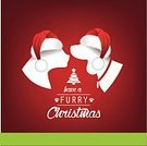 Dog,Christmas,Domestic Cat,Christmas Card,Pets,Computer Icon,Symbol,Humor,Silhouette,Vector,Holiday Card,Holiday,Design,Winter,December,Clip Art,Fluffy,Fun,Fur,Beagle,Red,Tree,Cute,Ilustration,Hound,Greeting Card,Canine,Animal,Hat,Cartoon