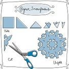 Christmas,Craft,Doodle,Snowflake,Paper,Sketch,Snow,Instructions,Winter,Frame,Scissors,Christmas Ornament,Holiday,Drawing - Art Product,White,Black Color,Christmas Decoration,Ilustration,Showing,swirly,Vector,Group of Objects,Direction,Blue,Isolated,Pencil Drawing,Black Line,Art Project,Illustrations And Vector Art,Art And Craft,Visual Art,Arts And Entertainment,Holidays And Celebrations,Christmas