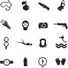 Scuba Diving,Diving,Underwater Diving,Diving,Computer Icon,Symbol,Pressure Gauge,Adventure,Equipment,Personal Accessory,Knife,Flag,Compass,Life Jacket,Sea,Underwater,Tube,Ilustration,Spear Gun,Electric Lamp,Sport,Black Color,Glove,Springboard,Lighting Equipment,Snorkel,Hood,People Traveling,Sports Glove,Set,Face Guard - Sport,Buoy,Float,Diving Flipper,Beach,Watch,Isolated,Business Travel,Travel,Lantern,Swimming,Flaming Torch,Deep,Camera - Photographic Equipment,Swimming Goggles,Flash,Vector,Oxygen