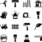 Paint,Computer Icon,Symbol,House,Icon Set,Painting,Ladder,Paintbrush,Vector,Construction Industry,Silhouette,Step Ladder,Try Square,brayer,Equipment,Simplicity,Leaf,Back Lit,Measuring,Scraper,Apron,Set,Tape Rule,Black Color,Ilustration,Work Tool,Star Shape,Fence,Bucket,Glove,Curlers,Engineer,Humor,Spray Paint,Paint Roll,internet icons,Design,architector,Clip Art,air compressor,Real Estate Developer,Entertainment Center