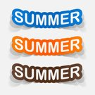 Computer Graphic,Vacations,Adventure,Creativity,Vector,Fun,Note Pad,Symbol,Backgrounds,Summer,Sign,Ilustration,Business,Label