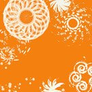 Cycle,Circle,Wave Pattern,Modern,Backgrounds,Abstract,Art,Orange Color