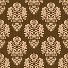 Flourish,Old-fashioned,Abstract,Vector,Textile,Decor,Part Of,Creativity,Royalty,Blossom,Scroll Shape,Elegance,Modern,Ilustration,Textured,Flower,Ornate,Swirl,Tile,Retro Revival,Floral Pattern,Backgrounds,Computer Graphic,Backdrop,Design Element,Repetition,Brown,Pattern,Decoration,Book Cover,Design,Wallpaper,Seamless,Wallpaper Pattern,Petal