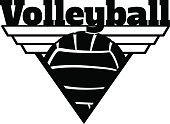 Volleyball - Sport,Volleyball,Insignia,Shield,Competitive Sport,Sport,Ball,Triangle