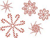 Candy Cane,Cute,Snow,Christmas,Winter,Sweet Food,Holiday,Vector Cartoons,Christmas,Holidays And Celebrations,Illustrations And Vector Art