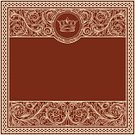 Insignia,Yellow,Red,Backgrounds,Decoration,Abstract,Victorian Style,Gold Colored,Crown,Rectangle,Intricacy,Scroll Shape,Flourish,Blank,Retro Revival,Ornate,Antique,Luxury,Vector,Copy Space,Clip Art,Swirl,Elegance,Curled Up,Vignette,Majestic,Frame,Floral Pattern,Sign,Baroque Style,Leaf,Design,Curve,Pattern,filigree