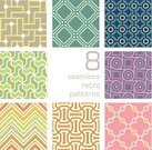 Design Element,Abstract,Backgrounds,Decoration,Square Shape,Seamless,Wallpaper Pattern,Zigzag,Color Swatch,Style,Set,Vector,Pattern,Pastel Colored,Ornate,Collection,Multi Colored,Fashionable,Geometric Shape,Cute,Tile,Old,Shape,Striped