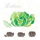 Watercolor Painting,Vegetable,Farm,Lettuce,Freshness,Summer,Symbol,Ilustration,Collection,Sign,Vegetarian Food,Isolated,Computer Graphic,Label,Decoration,Environment,Market,Merchandise,Ingredient,Ripe,Design,Plant,Refreshment,Green Color,Growth,Vector,Silhouette,Set,Springtime,Shape,Healthy Eating,Computer Icon,Multi Colored,Textured,Design Element,Nature,Agriculture,Crop,Food,Raw Food,Cabbage,Ornate,Decor,Organic