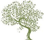 Tree,Grunge,Leaf,Branch,Growth,Green Color,Old,Environment,Nature,Bush,Environmental Conservation,Cultivated,Botany,Rough,Distressed,Vector,Damaged,Ilustration,Computer Graphic