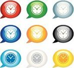 Clock,Time,Symbol,Turquoise,Computer Icon,Icon Set,Black Color,White,Religious Icon,Push Button,Interface Icons,Green Color,Yellow,Set,Red,Internet,Blue,Orange Color,Gray,Crystal,Metallic,Crystal,Speech Bubble,White Background,Illustrations And Vector Art,Vector,Bubble,web icon,Shiny,Concepts And Ideas,Multi Colored,www,Objects/Equipment