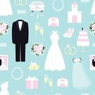 Wedding,Car,Ilustration,Vector,Wedding Ceremony,Bouquet,Symbol,Celebration,nuptials,Necklace,Invitation,Gift,Flower,Fashion,Suit,Ceremony,Love,Icon Set,Effortless,Rose - Flower,Pattern,Congratulating,Shoe,Seamless,Romance,Multi Colored,Dating,Clothing,Cake,Computer Icon,Design Element,Dress,Champagne,Flirting