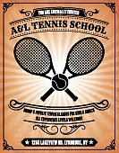 Old,Racket,Frame,Invitation,Sport,Teacher,Coach,Ball,Competition,Instructor,Sphere,Solitude,Wood Stain,Aging Process,Learning,old paper,Billboard,Retail,School Building,Group Of People,Private Sign,Classroom,Stained,Black And White,Business,Selling,Poster,Dirty,Education,Tennis,ISTEXT2012,Grunge