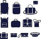 Bag,Computer Icon,Suitcase,Laptop,Clothing,Fashion,Sport,Men,Vector,Set,Collection,Flat,Accessibility,Solid,Backpack,Travel,Male,Black Color,Elegance,Business,Style,Purse,Season,Sale,Internet,Store