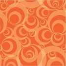 Pattern,Circle,Seamless,Backgrounds,1940-1980 Retro-Styled Imagery,Retro Revival,1970s Style,Orange Color,Abstract,Textured,Funky,Wallpaper Pattern,Shape,Textured Effect,Design,Vector,Style,imagery,Decoration,Art,Old-fashioned,Architectural Revivalism,Ilustration,Image,stylize,seamlessly,Illustrations And Vector Art,Vector Backgrounds,Painted Image