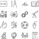 Symbol,Ilustration,Computer Mouse,Clip Art,Sign,penciling,Hand Draw,Doodle,Vector,History,Education Icons,Microscope,Atom,Education,Image,Ruler,informatics,Astronomy,Biology,School Icons,Graduation,Physics,Science,Back to School,orthography,Spelling,Literature,University