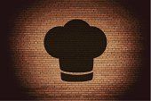 Bakery,Symbol,Hat,Vector,Clothing,Outline,Chef,replaceable,Stove,Backgrounds,Image,Food,Single Object,No People,Occupation,Fashion,replace,Cooking,Eps10,Computer Graphic,Garment,Restaurant,render,Cap,Ilustration,Copy Space