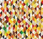 Pattern,Triangle,Abstract,Geometric Shape,Retro Revival,Backdrop,Decoration,Ilustration,Bright,Textured,Wallpaper,Classic,Modern,Red,Textile,Seamless,Multi Colored,Backgrounds,Design