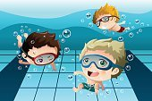 Swimming Pool,Happiness,Cheerful,People,Fun,Friendship,Swimming,Clip Art,Male,Smiling,Drawing - Art Product,Modern,Leisure Activity,Ilustration,Childhood,Child,Youth Culture,Little Boys,Activity,Playful,Sport,Action,Playing,Summer,Vector,Lifestyles,Recreational Pursuit,Cartoon