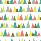 Neon Color,Vector,Coral Colored,Seamless,Repetition,Turquoise,Triangle,Wallpaper Pattern,Pine Tree,Tree,Pattern,Backgrounds,White,Christmas,Multi Colored,Green Color,Modern,Holiday